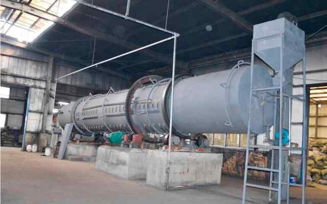 活性炭生产设备 活性炭整套生产线所需几大设备介绍